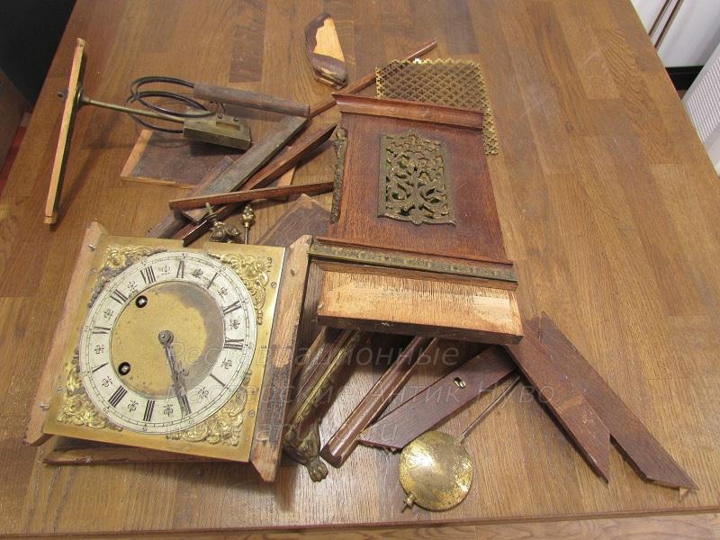 Реставрация корпуса деревянных часов своими руками